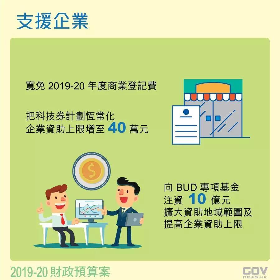 香港�政�A算案:��免香港公司商�I登��M